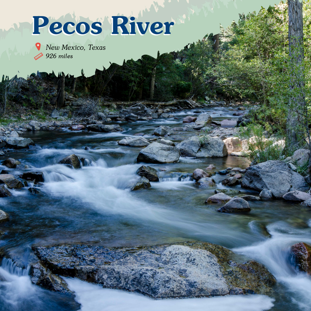 Pecos River Card front