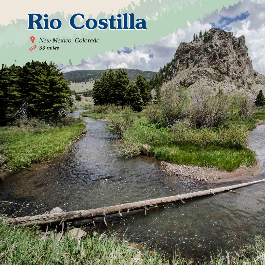 Rio Costilla Card front