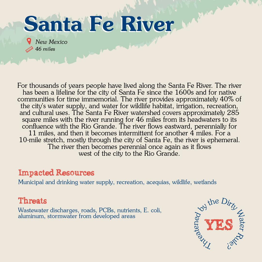 Santa Fe River Card back