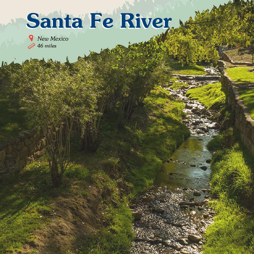 Santa Fe River Card front