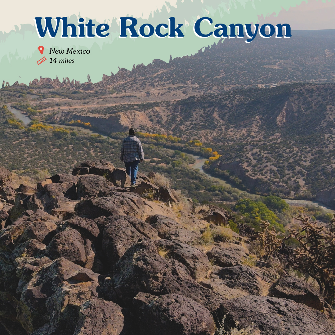 White Rock Canyon Card front