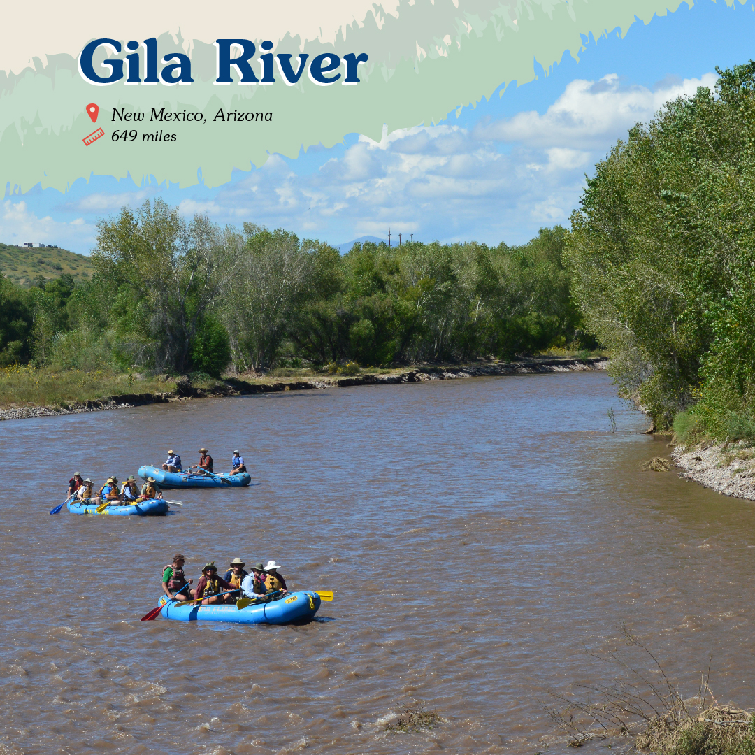 Gila River Card front