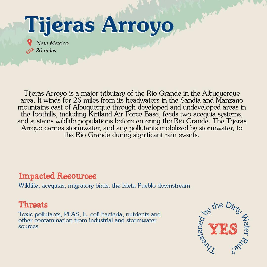 Tijeras Arroyo Card back