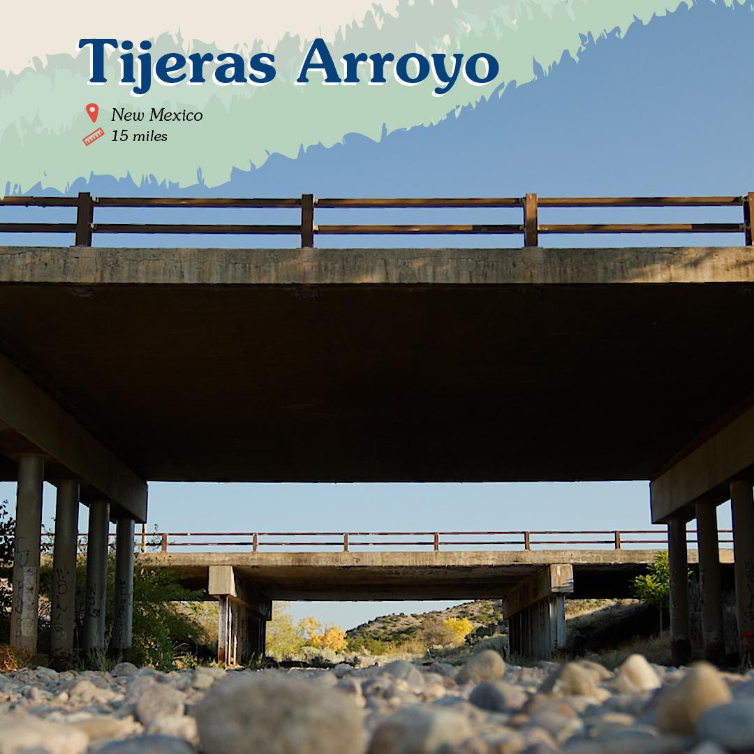Tijeras Arroyo Card front